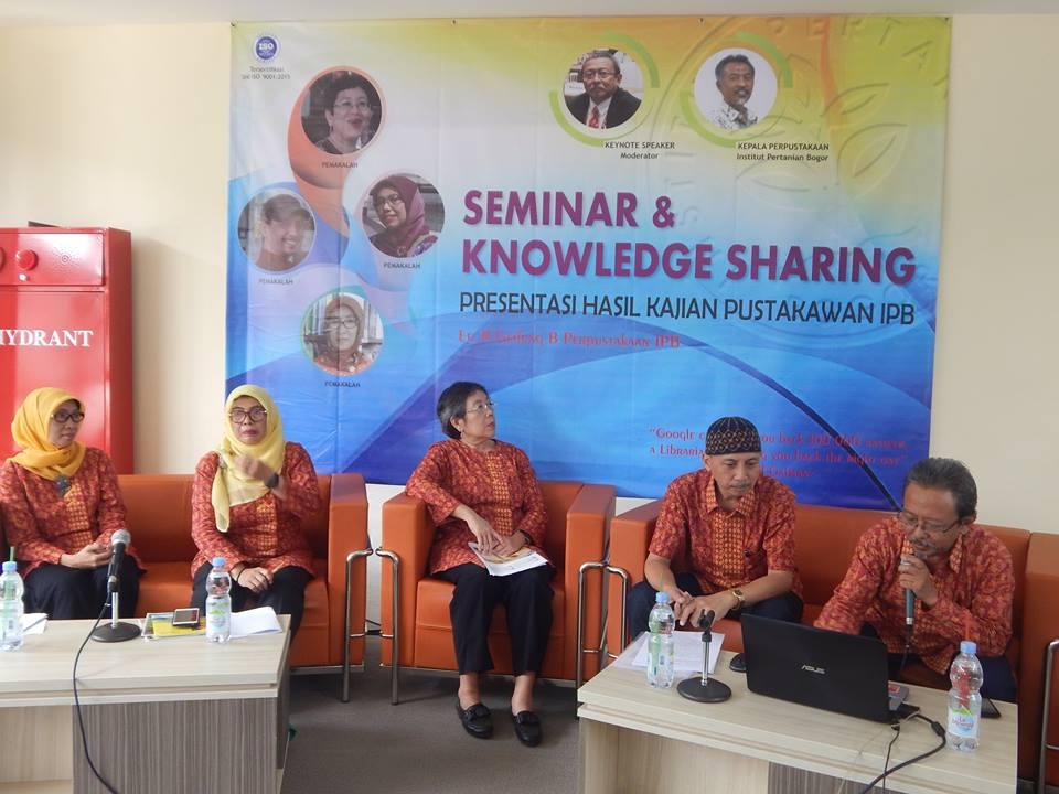 Seminar dan Knowledge Sharing